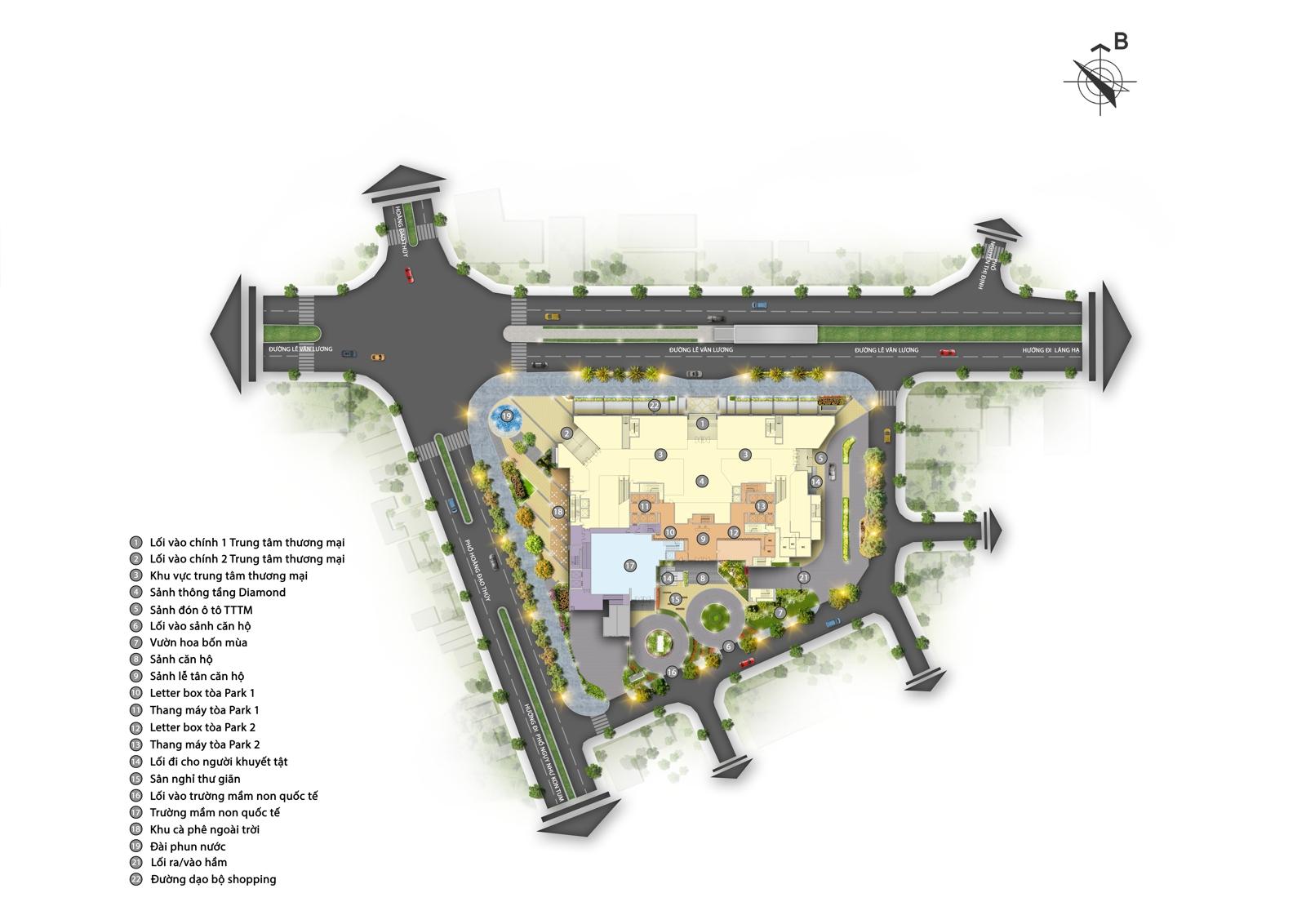 Bán căn hộ chung cư cao cấp 4 phòng ngủ cực rộng 203m2 trung tâm quận Thanh Xuân